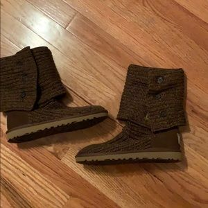 Brown Cardy Uggs